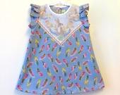 bunny print dress toddler girls Supayana SS2017