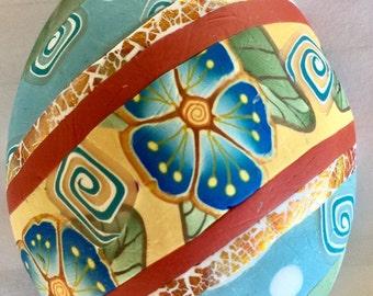 Decorative Easter Egg Magnet 03171