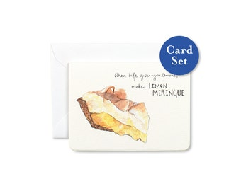 Make Lemon Meringue Mini Card Set of 8