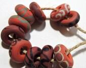 Lampwork Artisan Beads NATURALS Two Sisters Designs 051217C