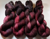 Hand Painted BFL and Silk Lace Weight Yarn -- Flayed Sheep -- Game of Thrones (100g-875yds)