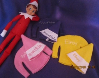 Elf Sweater and Hat embroidery pattern