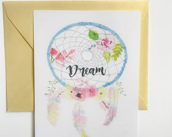 Greeting Card - Dream