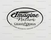 Grand Design RV Owners Group Camping, Camper, trailer decal by Howard Avenue