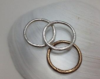 Cuttlebone stacking thin band