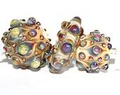 Lampwork  Art Beads by Jeanniesbeads #1807