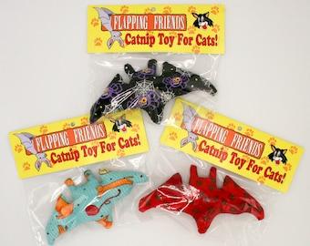 Flapping Friends - Bat Catnip Cat Toys (3 pack)
