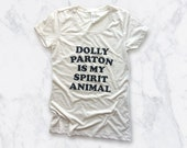 no. 640 - dolly parton screen printed women's t-shirt