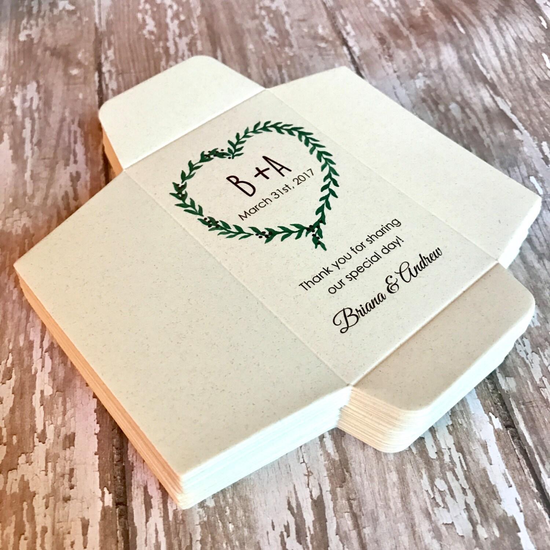 Seed Packet Wedding Favors Diy Custom Packets Envelope Kraft Personalized Envelopes Bridal