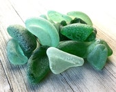 Bulk sea glass - Genuine Sea glass beach glass - Sea glass crafts - Coke bottles - Alaskan sea glass beach glass - Chunky bottle bottoms