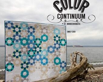 Color Continuum No. 01 Monochromatic