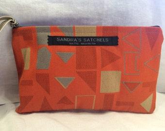 Orange Julep Makeup Bag