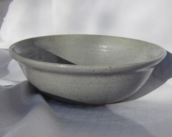 Pottery Bowl in Gray - Handmade Pottery