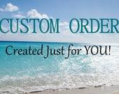Custom Listing for Jamie Sea Glass Necklace Sea Glass Jewelry Aqua Sea Glass N-24