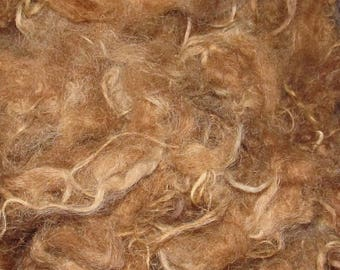 Icelandic fleece, 4 ounces, 6-7 inch Foxy Red 115