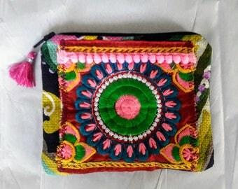 Fun little coin purse in bright colors
