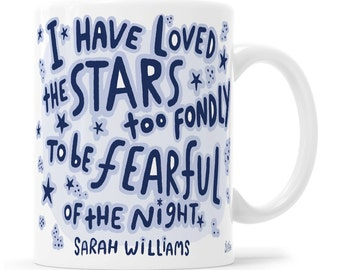 Astronomer Mug Space Mug Sarah Williams Nature Lover Mug Astrology Gift Astrology Mug Manifest Gift
