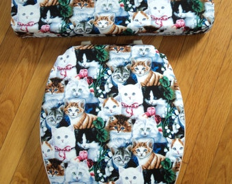 Cats Toilet Seat & Tank Lid Cover Set