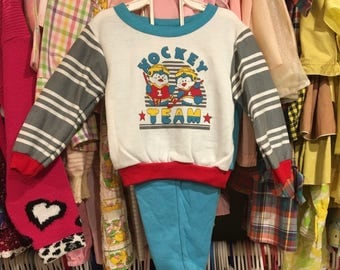 1980s Hockey Outfit 18/24 Months NWT