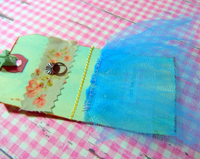 Gift tag - handmade, Pink, See beauty
