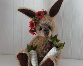 "OOAK artist made bunny rabbit ""Rosalyn"" - JRB Creations"