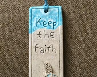 Turtle Faith Wall Decor
