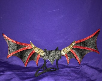 Custom Embroidered Dragon Wings