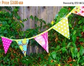 SALE Bunting Banners Whimsy Couture Sewing Pattern Tutorial PDF comes with 4 shapes Instant