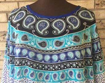 Plus Size Lightweight Rayon Tunic