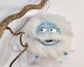 Bumble Doll Island of misfit Toys, Room Misfit Toy Bumble spun cotton sculpture Art Fur Doll