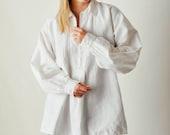 Vintage White Poet Sleeve Shirt