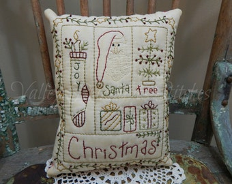 Decorative Christmas Pillow, Santa, Stocking, Joy, Christmas Tree, Presents