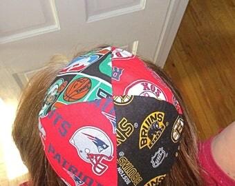 Boston many teams yarmulke or kippah Celtics Patriots Red Sox Bruins  professional sports yamaka great gift for him