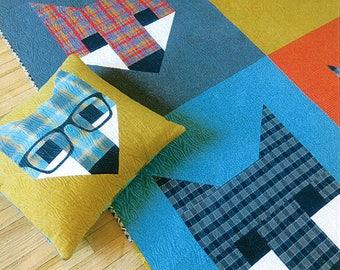 SALE Fancy Fox II quilt Pattern by Elizabeth Hartman