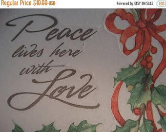 Miss Elizabeths  Vellum Sticker Sheet Single Sided Acid Free Lignin Free, J. Hand Design, Christmas Holly Berries, Scrap-booking Supplies