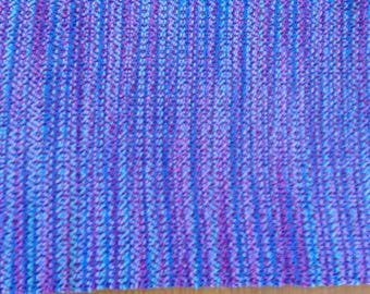 Handwoven table runner in Jewels cotton