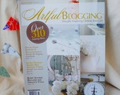 Artful Blogging, November December January 2012, artist magazine, blogging magazine, Somerset Studio, used magazine