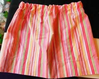 Handmade Stripped Girls Twirl Skirt