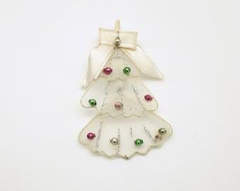 Vintage Christmas Tree Glass Beads Christmas Ornament