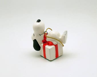 Vintage Christmas Ornament Snoopy Christmas Decoration