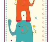 custom elephant growth chart