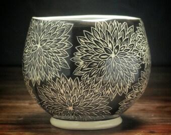 Dahlia Tea Bowl