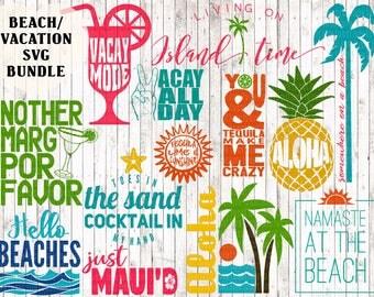 vacation svg bundle, beach svg bundle, aloha svg, tropical svg, vacay svg, island svg, beach printable, cinco de mayo svg, beach cut files