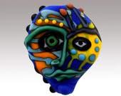 Aardvark's AM I BLUE Mask Bead