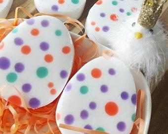 Easter basket fillers. Easter Gift, EGG CELLENT Polka Dot Soap. Tulip Scented. Spring Gift. Gift for Her. Easter Basket Gift. SALE