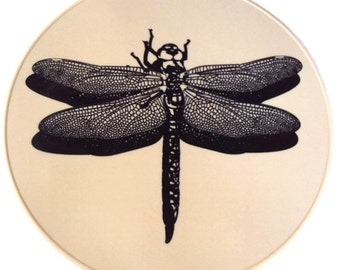Beige Silicone Dragonfly Table Trivet Table Placemat Kitchen Decor Kitchen Hot Pad