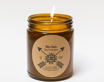 Dim Sum 9oz Soy Wax Candle by Wooly Beast