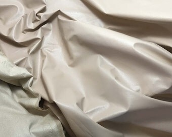 Beige Faux LEATHER Fabric  fat 1/4