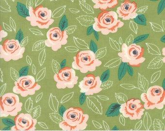 Sugar Pie (5040 16) Green Wildest Rose by Lella Boutique