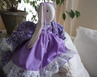Handmade Stuffed Bunny Rabbit made in America